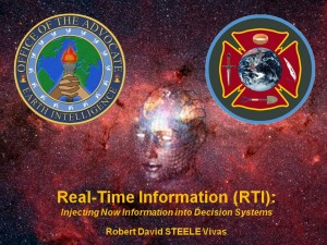 OSS.Net, Real-Time Information (RTI): Injecting Now Information into Decision Systems