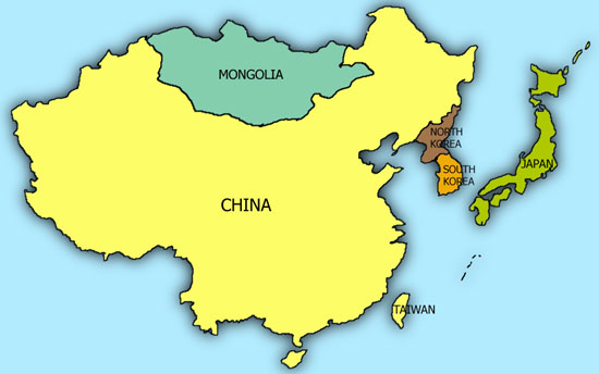 Map Of China And Mongolia.On China And Mongolia S Relationship With North Korea Think Global