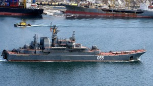 Russian Amphibious Ship Admiral Nevelskoi - Click on Image to Enlarge