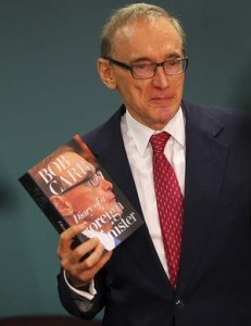 "Bob Carr: ""One must not be seduced by spies."""